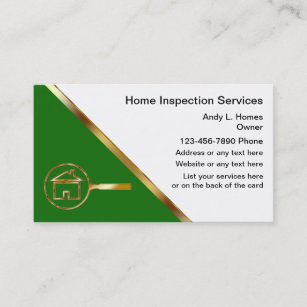 Home inspection business cards zazzle real estate inspector business cards colourmoves