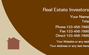 Real estate investor business cards zazzle real estate investor business card reheart Image collections