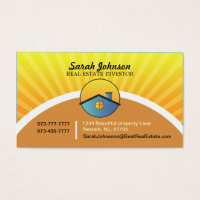 Investor business cards templates zazzle real estate investor business card template reheart Gallery