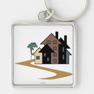 Real Estate Keychain