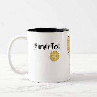 Real Estate Keyhole Business Mug mug