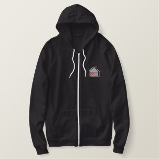 Real Estate Logo Embroidered Hoodie
