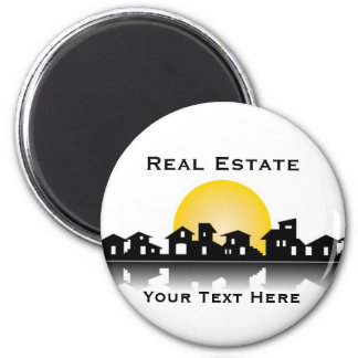Real estate 2 inch round magnet