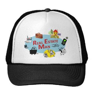 Real Estate Man Trucker Hats