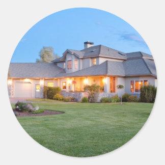 Real Estate marketing done right! Classic Round Sticker