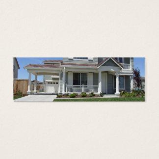 Real Estate Mini Business Card