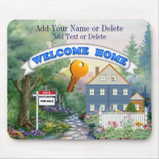 Real Estate Mouse Pad to Match Business Card