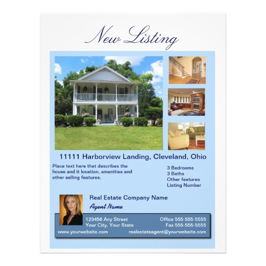 new listing flyer