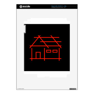 real estate or architecture firm decal for iPad 2