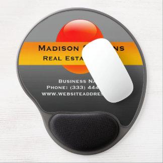 Real Estate Orange Circle Gel Mouse Pad