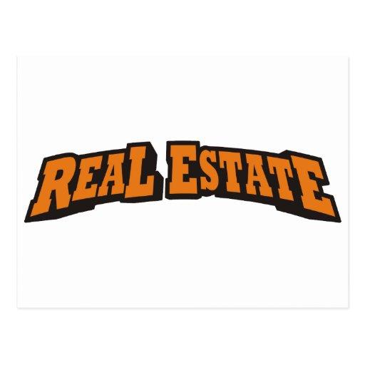 Real Estate / Orange Postcard