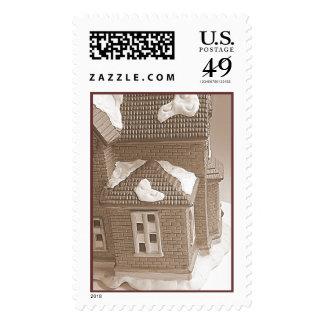 Real estate postage stamp