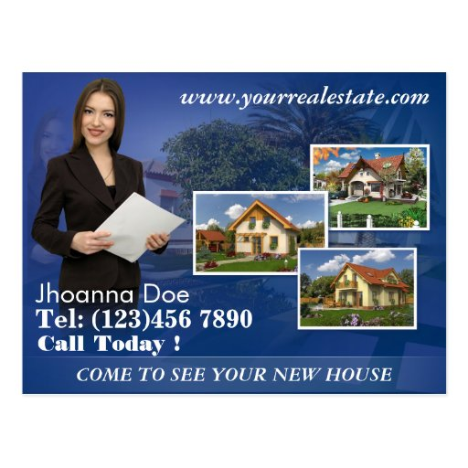 Design Your Own Real Estate Post Cards