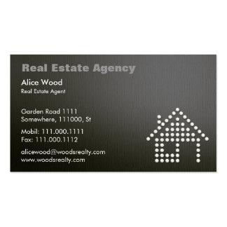Real Estate | Professional Dark Business Card
