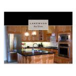 Real Estate Real Estate Agent Kitchen Postcard