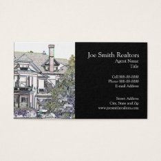 Real Estate Realtor Business Card at Zazzle