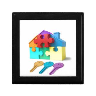 Real Estate, Realtor, estate agent, New Home Gift Box