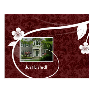 Real Estate / Realtor Postcard Customizable Red