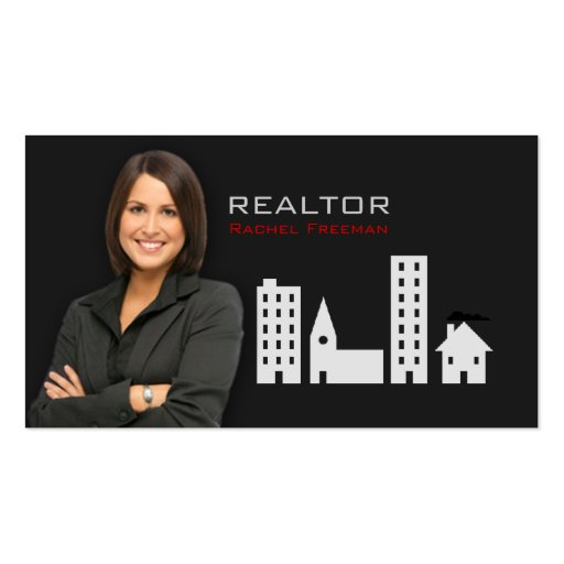 Real Estate Realtor Property Manager Building City Double