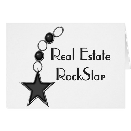 Real Estate Rock Star Card