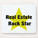 Real Estate Rock Star Mouse Pads