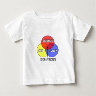 Real Estate ... Science Art Luck Baby T-Shirt