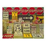 Real Estate Sold Sign Prospecting Postcard