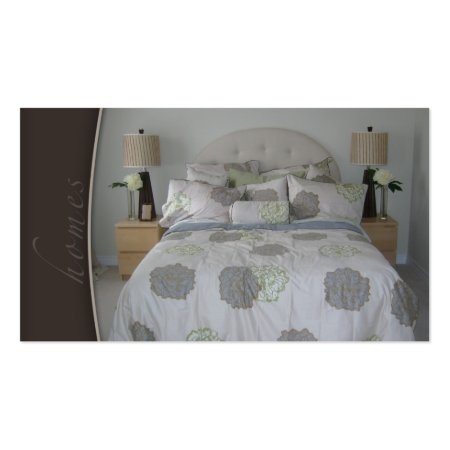 Beautiful Staging Room Bed and Breakfast Business Cards