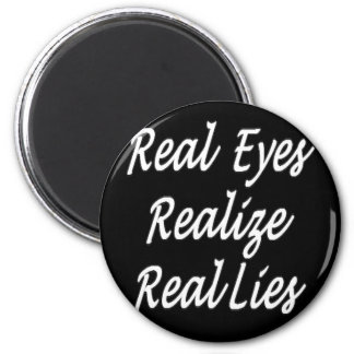 Real Eyes 2 Inch Round Magnet
