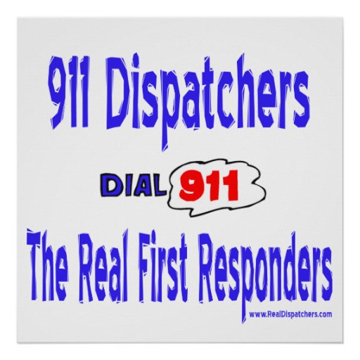 real first responders 911 dispatcher poster