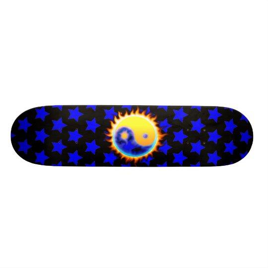Real Flames Yin Yang Skateboard