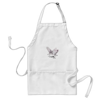 Real Flying Pig Popular Gift When Pigs Fly w Wings Adult Apron