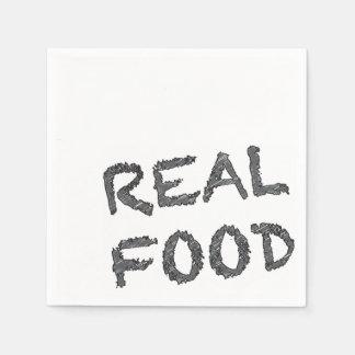 Real Food Napkins