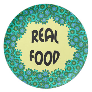 Real Food Party Plates
