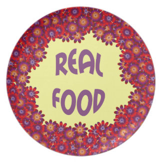 Real Food Party Plate