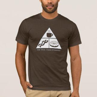 Real Food Pyramid - DARK SHIRT ONLY