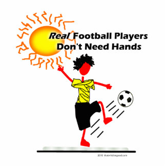 Real Football Players - Soccer Acrylic Cut Outs