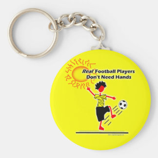 Real Football Players - Soccer Basic Round Button Keychain