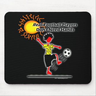 Real Football Players - Soccer Mouse Pad