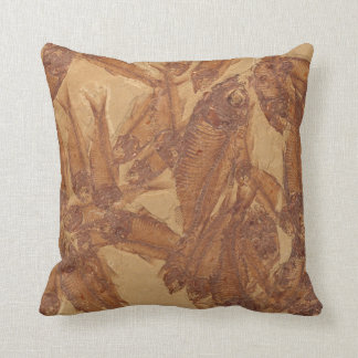 Real Fossil Image Pillow