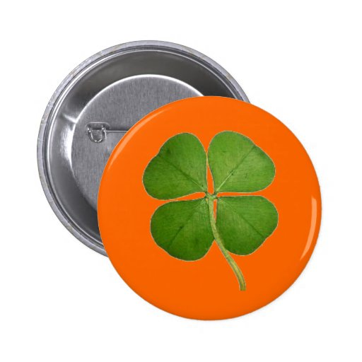 Real Four Leaf Clover Pins