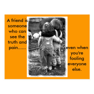 real_friends, A friend.. Post Cards