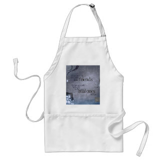 real friends adult apron
