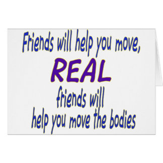 Real friends card