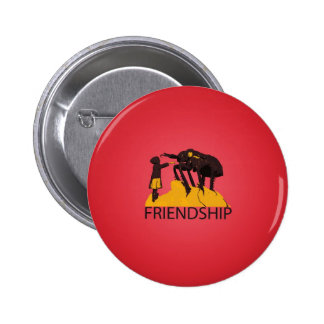 Real Friendship - Bug Kid Pinback Button