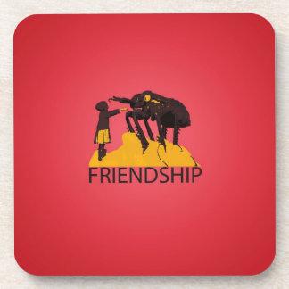 Real Friendship - Bug & Kid Drink Coaster