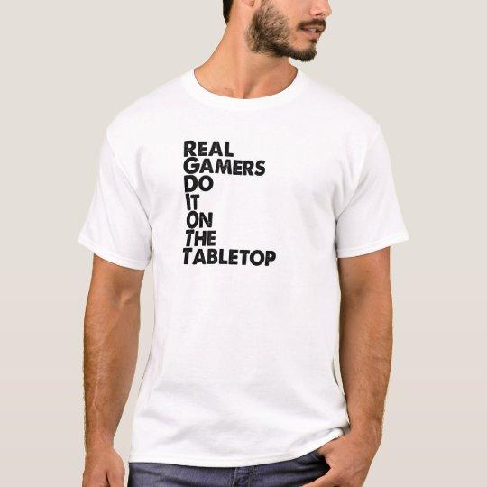 Real Gamers black T-Shirt