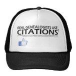 Real Genealogists Use Citations Hats