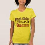 Real Girls Eat Bacon T-shirt