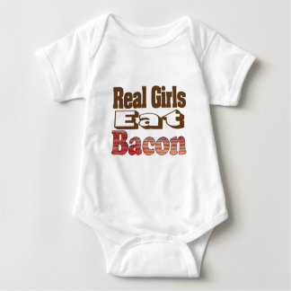 Real Girls Eat Bacon Tshirts